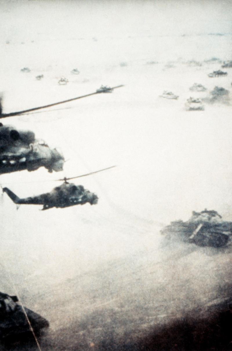 Σοβιετικές δυνάμεις κατοχής στο Αφγανιστάν.