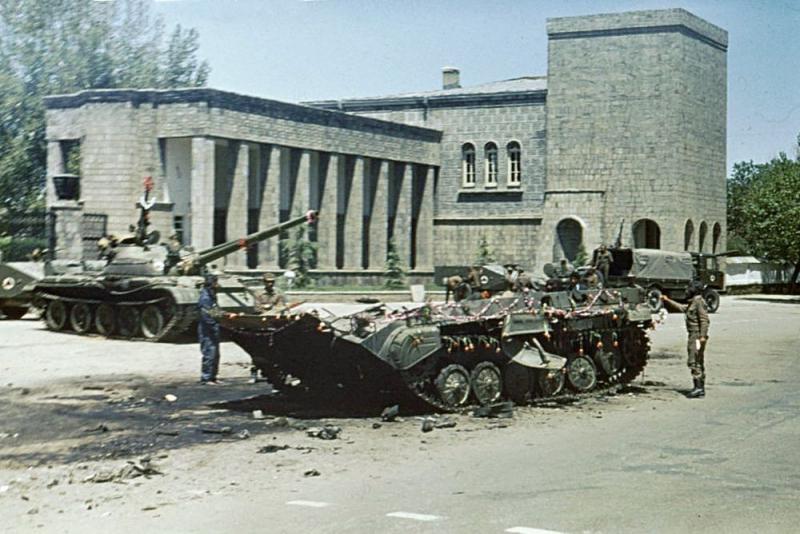 Μια μέρα μετά την επανάσταση των Saur στην Καμπούλ.